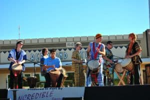 African Drummin Web