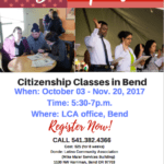Citizenship Now classes Fall 2017