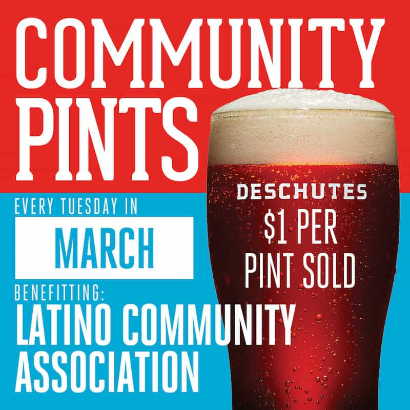 Deschutes Brewery Community Pints March 2021