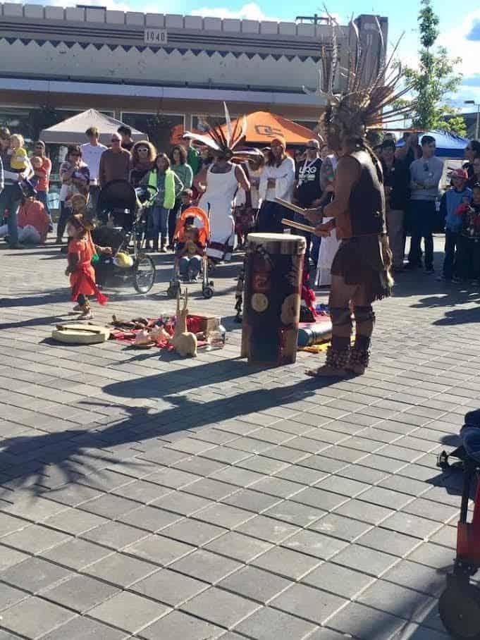 Festival Aztecs