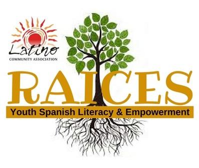 RAICES Logo + LCA logo